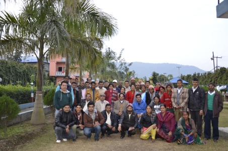 Total sanitation - training for community leaders, 2014